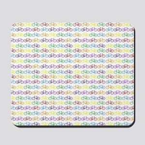 Colorful Bicycles Mousepad