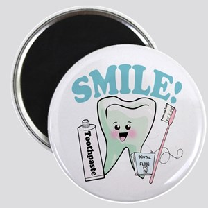 Smile Dentist Dental Hygiene Magnet