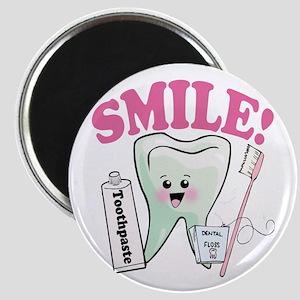 Smile Dentist Dental Hygiene Magnet