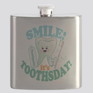 Smile Dentist Dental Hygiene Flask