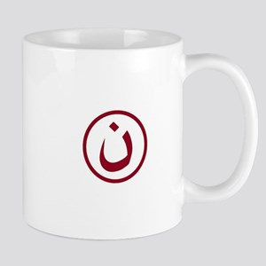 Red Nazarene Symbol Mugs