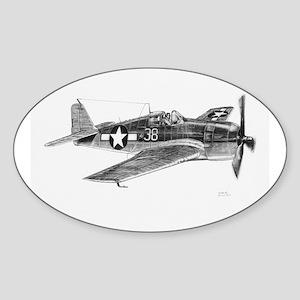 F6F Hellcat Oval Sticker