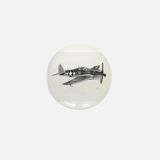 F6F Hellcat Mini Button