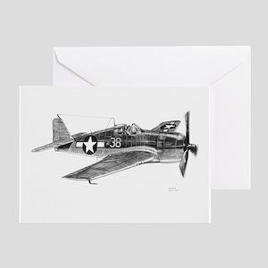 F6F Hellcat Greeting Card