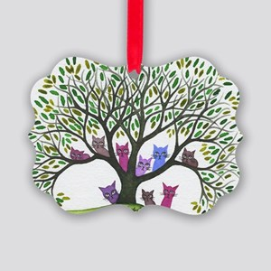 Payette Stray Cats Picture Ornament