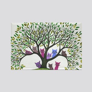 Payette Stray Cats Rectangle Magnet