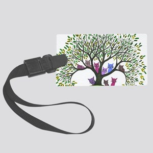 Payette Stray Cats Large Luggage Tag