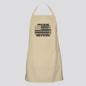 Land Of The Free, Home Of The Brave Apron