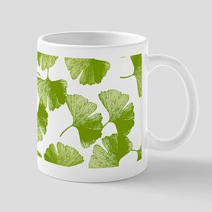 Ginkgo Leaf Pattern Mugs