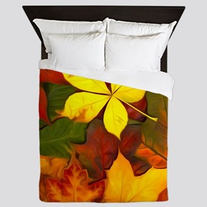 Colorful Autumn Queen Duvet