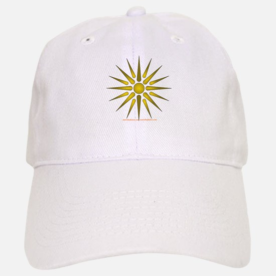 Sun Symbol Baseball Baseball Baseball Cap