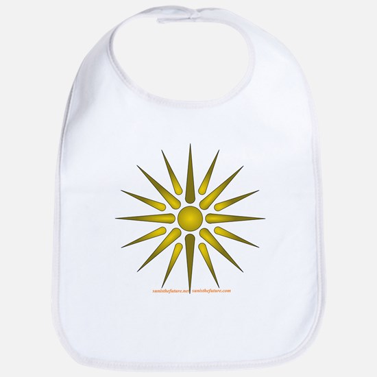 Sun Symbol Bib