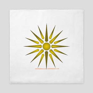 Sun Symbol Queen Duvet