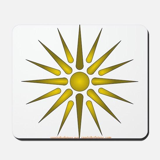 Sun Symbol Mousepad