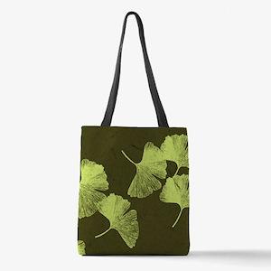 ginkgo_13-5x18.jpg Polyester Tote Bag