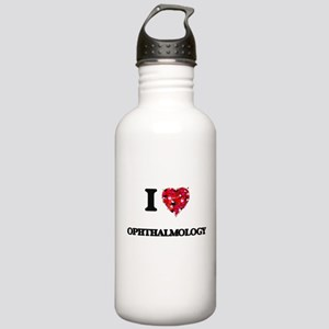 I Love Ophthalmology Stainless Water Bottle 1.0L