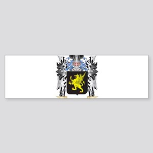 Griffin Coat of Arms - Family Crest Bumper Sticker