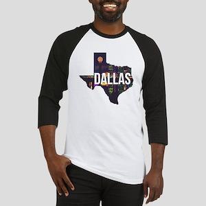 Dallas Texas Silhouette Baseball Jersey