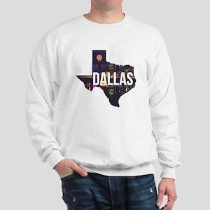 Dallas Texas Silhouette Sweatshirt