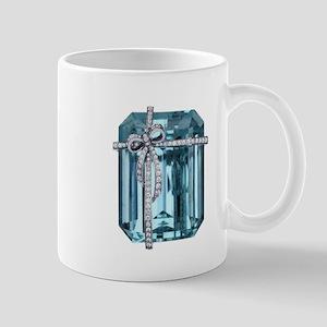 Blue-Brooch Mugs