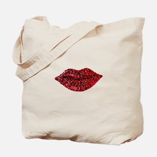 SPARKLING_LIPS Tote Bag