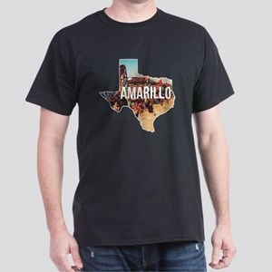 Amarillo Cadillac Ranch Dark T-Shirt