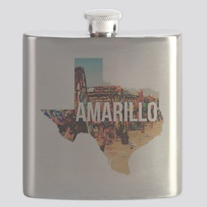 Amarillo Cadillac Ranch Flask