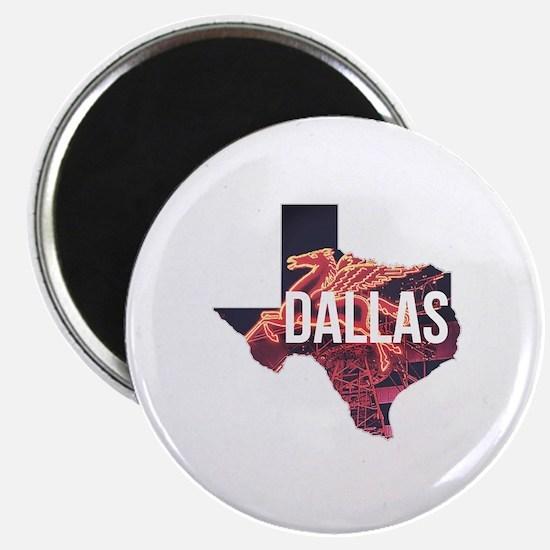 Dallas Pegasus Magnet