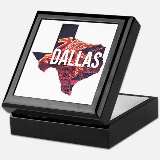Dallas Pegasus Keepsake Box