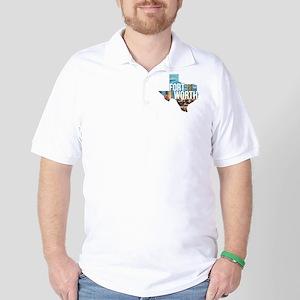 Fort Worth, Texas  Golf Shirt