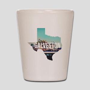Galveston, Texas Shot Glass