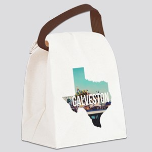 Galveston, Texas Canvas Lunch Bag