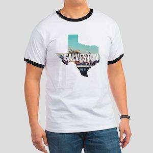 Galveston, Texas Ringer T