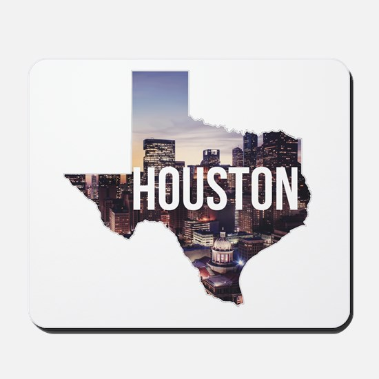 Houston, Texas Mousepad