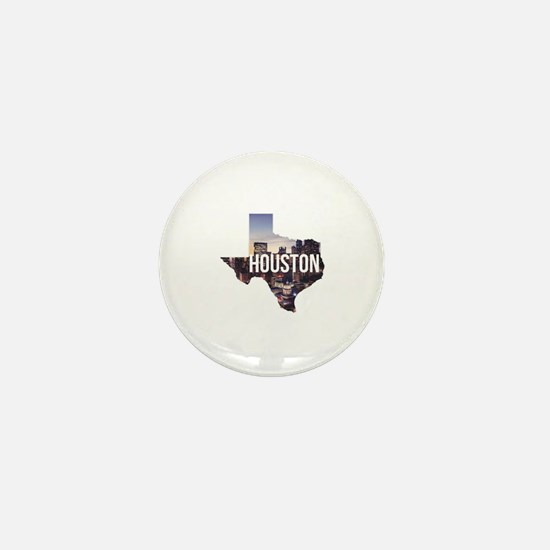 Houston, Texas Mini Button