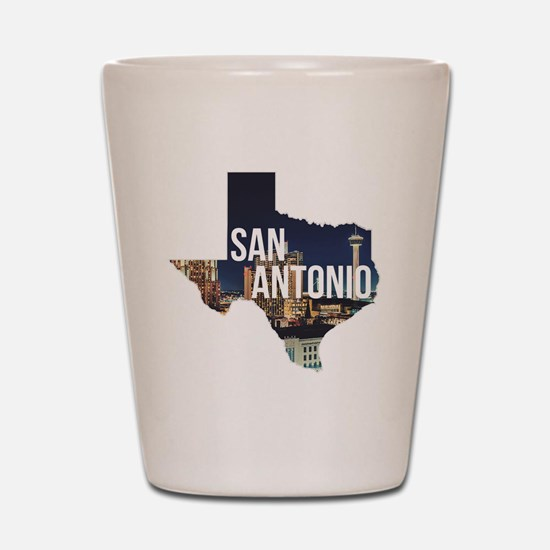 Cute San antonio Shot Glass