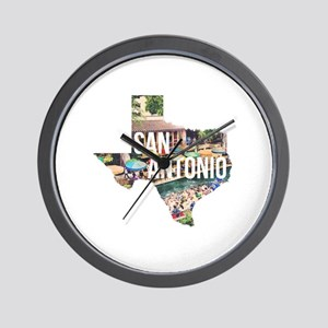 San Antonio Riverwalk, Texas Wall Clock