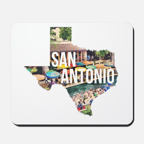 San Antonio Riverwalk, Texas Mousepad