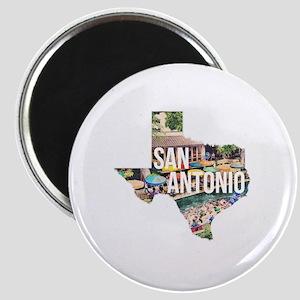 San Antonio Riverwalk, Texas Magnet