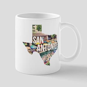 San Antonio Riverwalk, Texas Mug