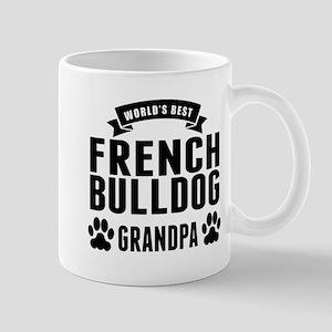 Worlds Best French Bulldog Grandpa Mugs