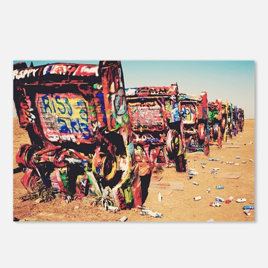 Amarillo Cadillac Ranch Postcards (Package of 8)