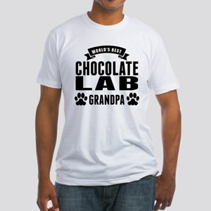 Worlds Best Chocolate Lab Grandpa T-Shirt