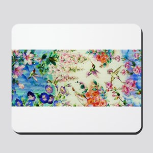 HUMMINGBIRD_STAINED_GLASS Mousepad