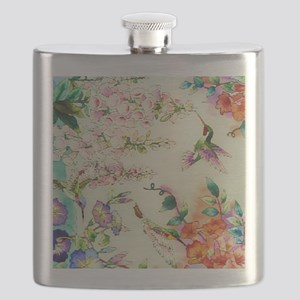 HUMMINGBIRD_STAINED_GLASS Flask