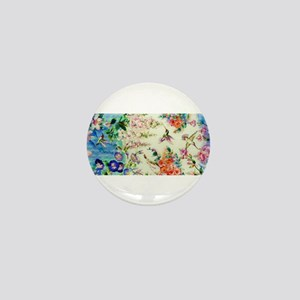 HUMMINGBIRD_STAINED_GLASS Mini Button