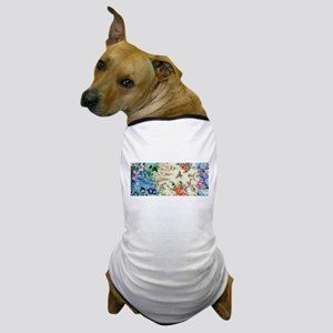 HUMMINGBIRD_STAINED_GLASS Dog T-Shirt