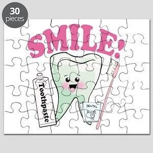 Smile Dentist Dental Hygiene Puzzle