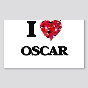 I Love Oscar Sticker