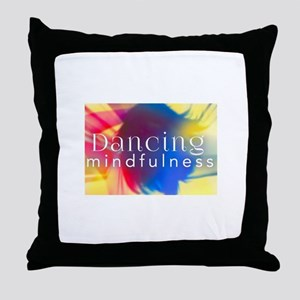 Dancing Mindfulness Throw Pillow